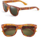 Dolce & Gabbana 6089 53mm Folding Wayfarer Sunglasses