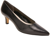 Ros Hommerson Black Nappa Kendra Leather Pump