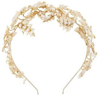 Rosantica leaf headband