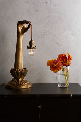 Anthropologie Lightbearer Table Lamp By in Gold Size ALL