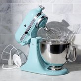 Crate & Barrel KitchenAid ® Artisan Aqua Sky Stand Mixer