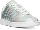 K-Swiss Girls' Classic VN Metallic Casual Sneakers from Finish Line