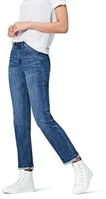find. Women's Straight Leg Mid Rise Jeans