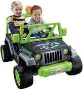 Fisher-Price Power Wheels Teenage Mutant Ninja Turtles Ride-On Jeep Wrangler by