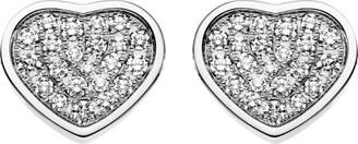 Chopard Happy Hearts Diamond Stud Earrings