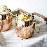 Cathy's Concepts Cathys Concepts 2 Piece His / Hers Moscow Mule Copper Mug with Unique Handle Set