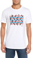 RVCA Men's Splice Graphic Crewneck T-Shirt