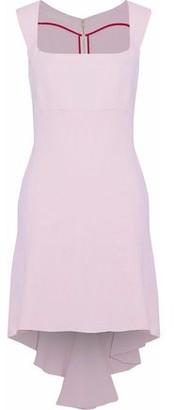 Antonio Berardi Asymmetric Crepe Mini Dress