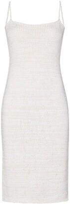 Bottega Veneta Knitted Slip Dress