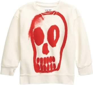 Nununu Painted Skull Sweatshirt