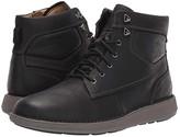 Clarks Un Larvik Peak (Black Oily Leather) Men's Shoes