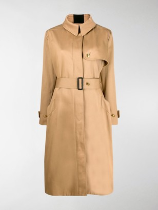 Givenchy Stripe Detail Trench Coat