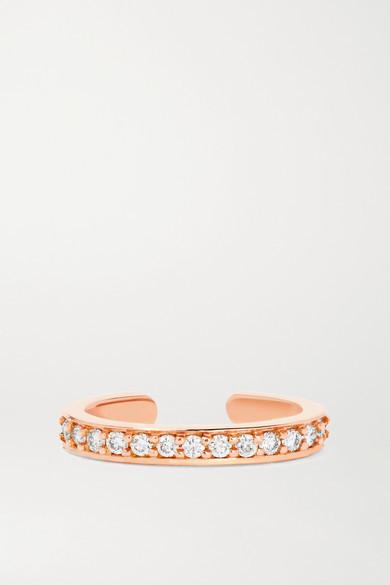 Anita Ko 18-karat Rose Gold Diamond Ear Cuff - one size