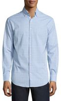 Peter Millar Crown Sport English Performance Glen Plaid Shirt