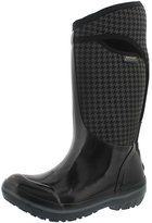 Bogs Women's Plimsoll Houndstooth Tall Waterproof Winter Boot Blk Multi US