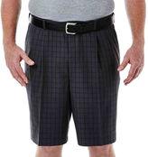 Haggar Cool 18 Flat-Front Shorts - Big & Tall