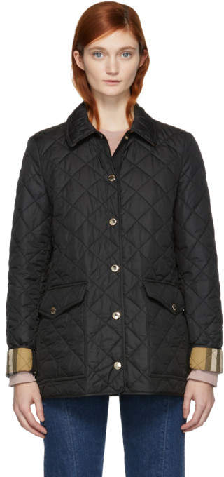 Burberry Black Westbridge Jacket