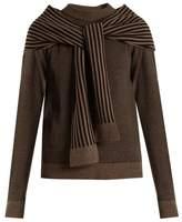 Isa Arfen Cosy striped-wool sweater
