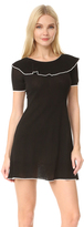 Moschino Short Sleeve Boat Neck Dress