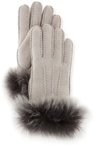 UGG Classic Heritage Toscana Gloves, Seal