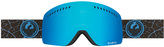 Dragon Optical NFXS Sunglasses Petal Blue Blue Steel 670 210mm