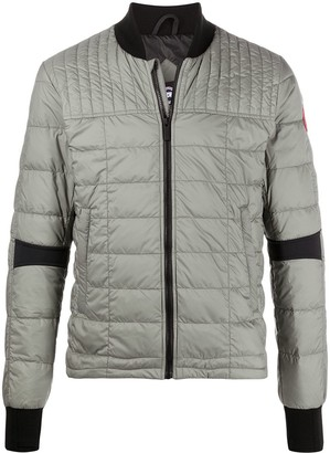 Canada Goose fitted quilted puffer jacket