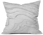 DENY Designs Deny Marble Print Decorative Pillow, 16 x 16