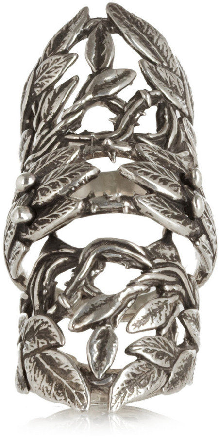 Pamela Love Maia silver-plated ring