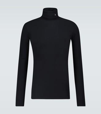 Raf Simons R-embroidered turtleneck sweater