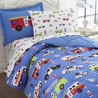 Wildkin Heroes 7 pc Microfiber Bed in a Bag - Full