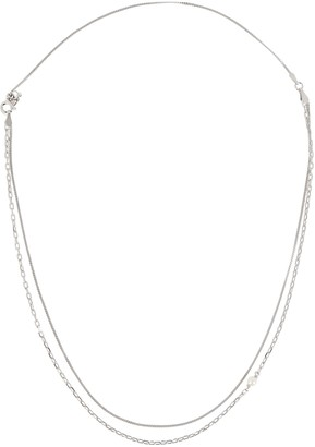 Maria Black Cantare Pearl Chain-Link Necklace