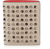 Christian Louboutin Paros bi-fold grained-leather wallet