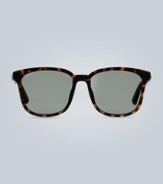 Gucci Square tortoiseshell sunglasses