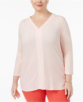 MICHAEL Michael Kors Size V-Neck Top