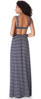 Rachel Pally Stripe Cutout Dress