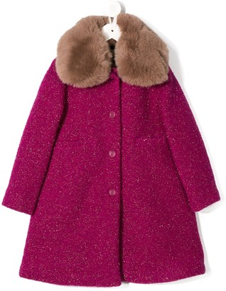 Douuod Kids Wool Blend Coat