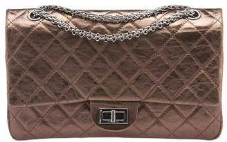Chanel Reissue 2.55 Classic Double Flap Quilted Aged Calfskin 227 Bronze