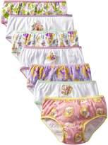 Disney Little Girls' 7 Pack Tangled Underwear