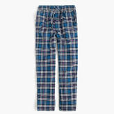 Flannel Pajama Pant In Blue Plaid
