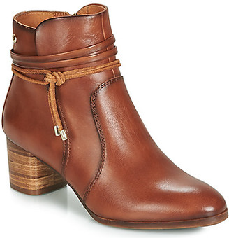PIKOLINOS CALAFAT W1Z women's Low Ankle Boots in Brown
