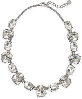 Charter Club Silver-Tone Cubic Zirconia Collar Necklace, Only at Macy's