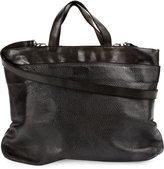 Numero 10 textured shoulder bag - men - Leather - One Size