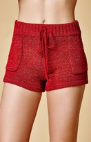 MinkPink Colombo Knitted Shorts