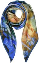 Vivienne Westwood Vivienne & Andreas Print Twill Silk Square Scarf