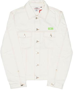 GCDS White Denim Jacket