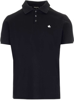 DSQUARED2 Logo Embroidered Polo Shirt
