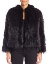 Theory Elstana Fur Jacket