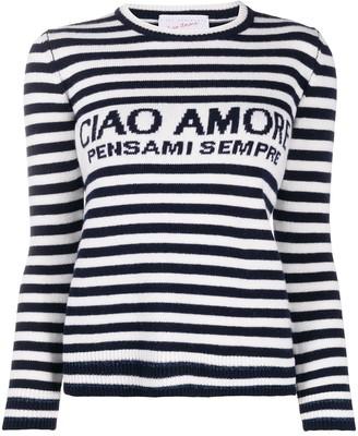 Giada Benincasa Ciao Amore Striped Jumper