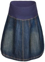 Jo-Jo JoJo Maman Bebe Denim Pleated Skirt - Indigo-18