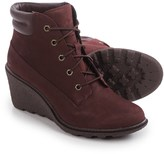 Timberland Amston Wedge Boots - Nubuck (For Women)